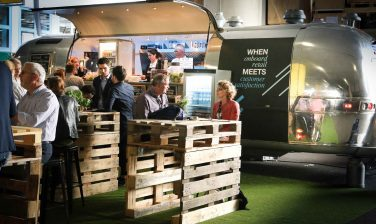 LSG Group's food truck at InnoTrans